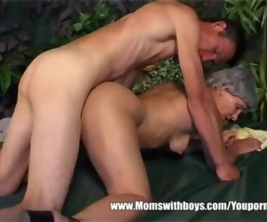 Hot Granny Cougar with Short..
